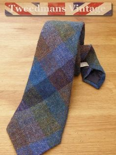 Mens Kevin & Howlin Irish Tweed Tie £16.99
