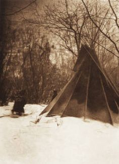 When Winter Comes Sioux The North American Indian V III