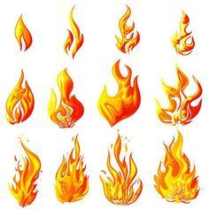 стилизованный огонь пламя - Поиск в Google