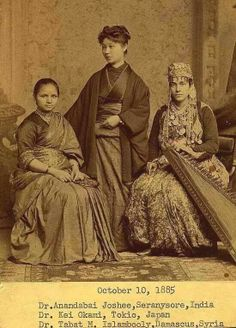Each of these women were the first women to become doctors in their respective countries.