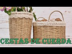 Jute Crafts, Diy And Crafts, Paper Crafts, Sisal, 60th Birthday Party Invitations, Love Your Neighbour, Boho Diy, Diy Videos, Handicraft