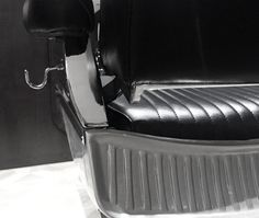 vintage style barber chair