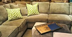 Love this Living Room Sectional from @Havertys Furniture #PicturePerfect #ad