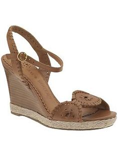 d157ad911867 Clare Rope Wedge by Jack Rogers  140 Jack Rogers