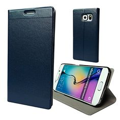 Galaxy S6 Edge Case,VAKOO Samsung Galaxy S6 Edge Wallet Premium Case Protective Folio Leather Smart Cover Built-in Stand Card Slots/Cash Slots and Inner Pocket(Navy Blue) Vakoo http://www.amazon.com/dp/B00WS08QPQ/ref=cm_sw_r_pi_dp_a5Nyvb1NBBA5X
