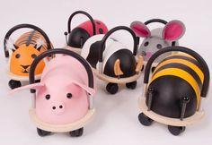 "zo cute!~ ""Wheelybug Cow Ride-on"""