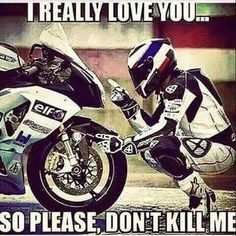 Next Page of Motorcycle & Biker Quotes Ducati, Motorcycle Memes, Dirtbike Memes, Motocross Videos, Women Motorcycle, Gp Moto, Jeep Camping, Car Memes, Street Bikes