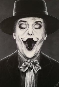 Art Collection by Nina Domaschko Jack Nicholson, Joker, Paintings, Comics, Film, Canvas, Celebrities, Animals, Fictional Characters