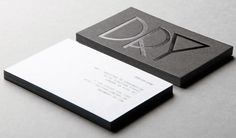 """DRY is a """"creative agency specialising in graphic design, branding and art direction."""" Spanking new shiny identity via mmm Graphic Projects, Branding Design, Letterhead Design, Corporate Design, Typography Design, Branding Ideas, Corporate Identity, Elegant Business Cards, Cool Business Cards"""