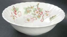 """Wedgwood Apple Blossom Cereal Bowl, 6¼"""". $64.95 ea, 5 available at replacements.com on ebay, 2/2/16"""