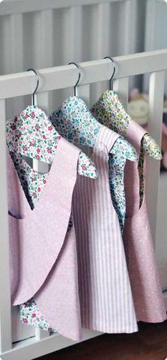 DIY - Comment faire La Petite Robe Tablier Baby Girl ? Conseil