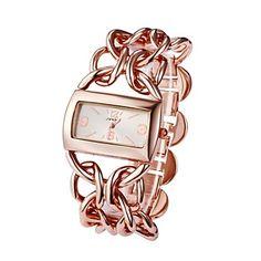 Corrente Dourada de SINOBI Mulheres Liga Banda Quartz Analógico Pulseira relógio de pulso (cores sortidas) – BRL R$ 67,20