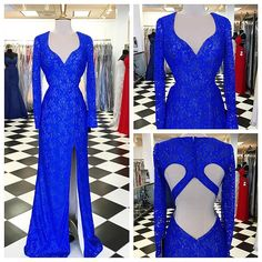 Prom Dresses,Evening Dress,Party Dresses,Backless Prom Dresses,Royal Blue Prom Dresses,Lace Evening Dress,Sexy Prom Dress,Prom Dresses With Long Sleeves,Charming Prom Gown,Open Back Prom Dress,Mermaid Fashion Evening Gowns for Teens