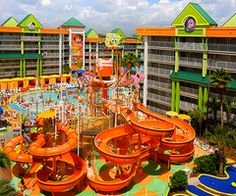 as a little kid a Nickelodeon vacation was always my dream...it still is!