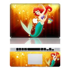 Hey, I found this really awesome Etsy listing at https://www.etsy.com/listing/199278175/mermaid-disney-macbook-cover-decals