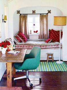 built-in daybed  kathryn ireland