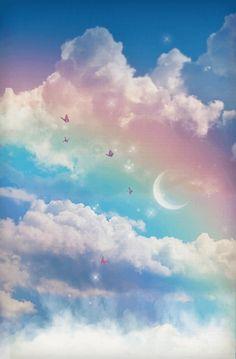 My whatsApp wallpaper Iphone Wallpaper Sky, Night Sky Wallpaper, Cloud Wallpaper, Rainbow Wallpaper, Scenery Wallpaper, Nature Wallpaper, Wallpaper Backgrounds, Cute Pastel Wallpaper, Cute Patterns Wallpaper