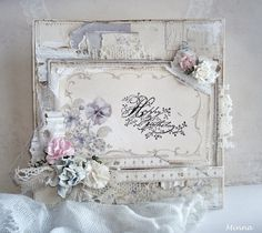 I love this mix of vintage, shabby chic and country.....beautiful!