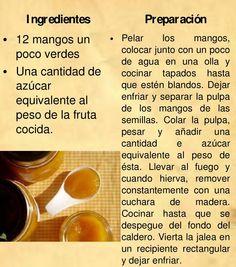 Jalea de Mango Tapas Recipes, Dessert Recipes, Cooking Recipes, Best Spanish Food, Venezuelan Food, Delicious Desserts, Yummy Food, Lunch To Go, My Dessert