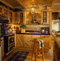 The title of this pic is Italian Country Style Kitchen Design. It's actually just one of many wonderful photograph samples in the post entitled Italian Country Kitchen Furniture. Primitive Kitchen, Cozy Kitchen, Rustic Kitchen, Kitchen Ideas, Kitchen Colors, Kitchen Stove, Kitchen Paint, Italian Home Decor, Rustic Italian