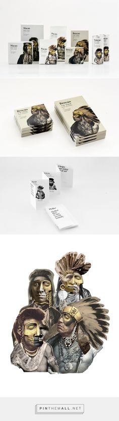 Heritage #Cocoa Products #packaging by Jordana Mirski Fridman - http://www.packagingoftheworld.com/2015/02/heritage-cocoa-products-student-project.html