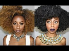 Natural looking Crochet wig with Marley hair || Jessica Pettway - YouTube