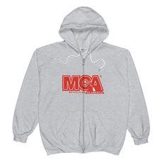 MCA Red Logo Unisex Zip Hoodie