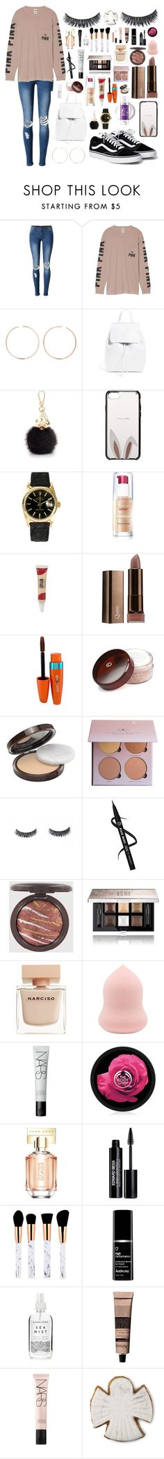 """""""Untitled #62"""" by sarahdoyle448 ❤ liked on Polyvore featuring WithChic, Victoria's Secret, Anita Ko, Mansur Gavriel, Furla, Kate Spade, Rolex, COVERGIRL, Givenchy and Narciso Rodriguez"""