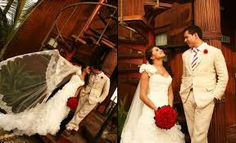 arreglos de mesa para boda rojos -