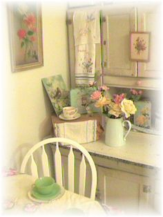 Our Cottage Kitchen by Bluebird Becca, via Flickr