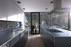 Minimal Kitchen A Challenging Project For The Architects: House Zochental in Aalen, Germany