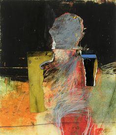 CombustusThe Unsettling Abstracts of San Francisco Artist Henry Jackson - Combustus Painting Collage, Figure Painting, Henry Jackson, Figurative Kunst, Modern Art Movements, Jackson's Art, Art Moderne, Abstract Photography, Medium Art