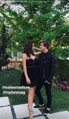 Bailee Madison and Alex Lange