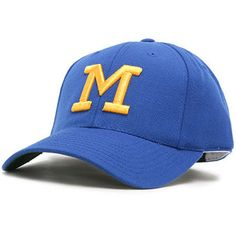 7e843bd3462 Men s American Needle Royal Milwaukee Brewers Cooperstown Fitted Hat  Milwaukee Brewers