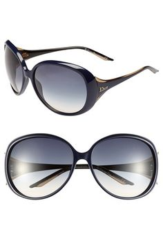 Dior 'Cocotte' Oversized Sunglasses available at #Nordstrom IN PLUM.  $245