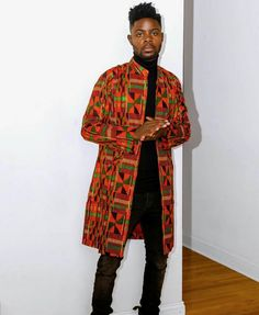 The absolute collection of the best Groom And Groomsmen Wedding Suit Styles And Attire Ideas of 2018 and beyond. If styling your wedding suit is all you want African Shirts For Men, African Attire For Men, African Clothing For Men, African Wear, African Inspired Fashion, African Print Fashion, Africa Fashion, African Fashion Dresses, Costume Africain