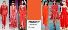 Kolory na wiosnę 2017: PANTONE 17-1462 Flame