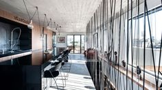 A Duplex Penthouse Apartment in Tel Aviv by Toledano + Architects | Yatzer