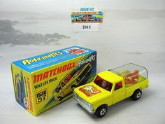 Matchbox Superfast 57 Wild Life Truck