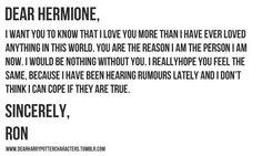 Dear Hermione