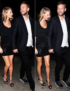 Taylor Swift and Calvin Harris in Gjelina, 5/12
