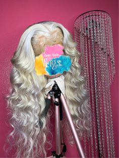 Lace frontal Wigs For Women Prom Hair Wavy Lace Front Wigs With Baby Hair Curly Wigs 360 Lace Frontal Sew In Straight Wigs Wig Store Near Me Wigs For Women Sandy Blonde Hair, Dyed Blonde Hair, Ash Blonde, Blonde Balayage, Hair Dye, Sew In Wig, Weave Hairstyles, Teen Hairstyles, Casual Hairstyles