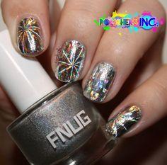 Nail foil #nailfoil #nailart #nails #foil