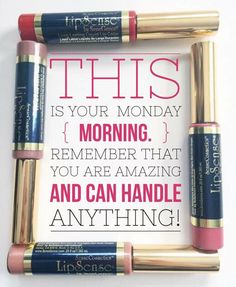 Monday morning. LipSense Distributor # 351172. Email: prettypoutyperfection@gmail.com. FB Group: Pretty Pouty Perfection.