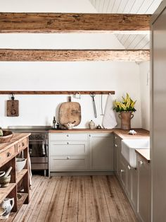 Move Over, Marble! Move Over, Marble! Kitchen Interior, Kitchen Inspirations, Kitchen Remodel, Nordic Kitchen, Home Kitchens, Wood Floor Kitchen, Rustic Kitchen, Kitchen Style, Kitchen Renovation
