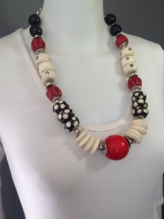 Tribal statement necklace by Afrigal Designs