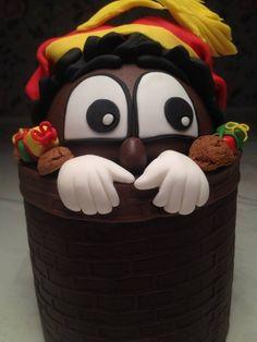 Kiekeboe Piet cake
