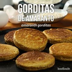 Gorditas de Amaranto Video - These delicious and healthy amaranth gorditas are perfect as a snack, since they have many benefits - Nutritious Snacks, Healthy Desserts, Healthy Recipes, Mexican Food Recipes, Sweet Recipes, Dessert Recipes, Good Food, Yummy Food, Tasty