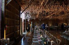 A stylish barn wedding in Hunterdon County, NJ.