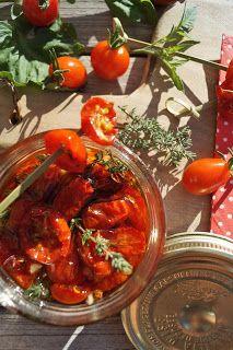 Recettes gourmandes by Kélou: Tomates confites maison